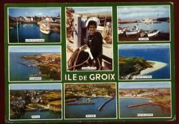 Cpm  Du  56 Ile De Groix  Multivues        BHU18 - Groix
