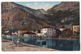 EUROPE MONTENERGRO THE RIVER CRNOJEVLEJ JAMMED CORNER OLD POSTCARD - Montenegro