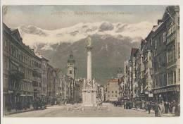 Innsbruck, Maria Theresienstrasse Und Annasaule - Austria