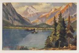 Achensee, Tyrol - Artist Drawn - Unclassified