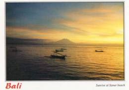 Sunrise At Sanur Beach, Bali - PK009 Unused - Indonesia