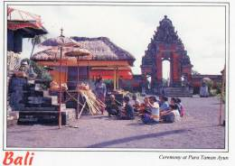 Ceremony At Pura Taman Ayun, Bali - Sujana 1031, 1997 Unused - Indonesia