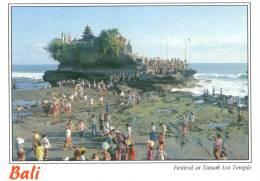 Festival At Tanah Lot Temple, Bali - Sujana P017, 1999 Unused - Indonesia