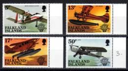Falkland Islands  - Bicentenary Of Manned Flight Set - 1983 - SG463-66 - MNH - Falkland