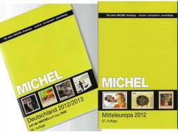 Germany And Part1 Stamp Catalogue 2012/2013 New 102€ Deutschland+Mittel-Europa MlCHEL With D A CH CSR HU FL Slowakei UNO - Collections