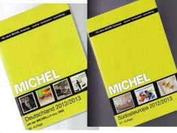 Germany And Part 4 Stamp Catalogue 2012/2013 New 102€ Deutschland + Südost-Europa MlCHEL With D BG GR RO TR Zypern Kreta - Sammlungen