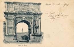 ROMA ARCO DI TITO 1901 - Roma (Rome)