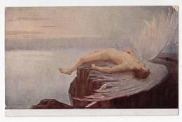 "ANGELS E.N. KLAKATSCHEWA ""IKARUS"" RUSSIA T.S.N. R.M. Nr. 224 OLD POSTCARD - Angels"