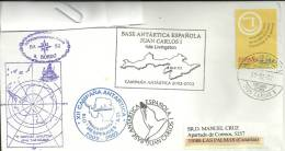 ANTARTIDA - ESPAÑA - BASE ANTARTICA ESPAÑOLA JUAN CARLOS I - CAMPAÑA 2002/2003 - Research Stations