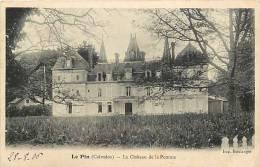 Calvados -ref D470- Le Pin - Le Chateau De La Pomme -carte Bon Etat  - - France
