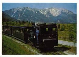 Schneeberg - Bahn : Zahnradbahn ( Österreich - Austria - Autriche ) - Chemins De Fer