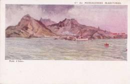¤¤  -  Rade D'ADEN  -  Compagnie Des Messageries Maritimes  -  Illustrateur    -  ¤¤ - Yémen