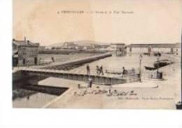 34---- FRONTIGNAN---le Bassin Et Le Pont Tournant---voir 2 Scans - Frontignan