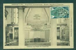 Expo De Grenoble 1925 Sur Carte Maximum Avec N°211 - ...-1929