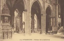 Strasbourg Intérieur De La Cathédrale - Strasbourg