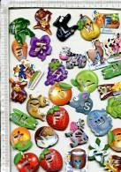 Lot De  Environ    60      MAGNETS     POCHOIRS    -   GERVAIS - Magnets