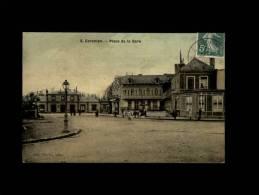 50 - CARENTAN - Place De La Gare - 6 - Carentan