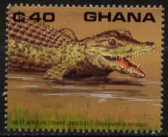 N° 1138 Du Ghana - X X - ( E 124 ) - Reptiles & Batraciens