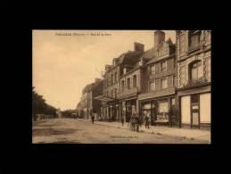 50 - CARENTAN - Rue De La Gare - Librairie - Imprimerie - Carentan