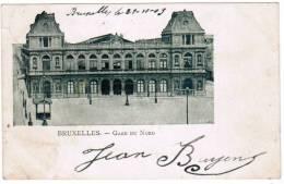 Bruxelles, Brussel, Gare Du Nord (pk6421) - Spoorwegen, Stations