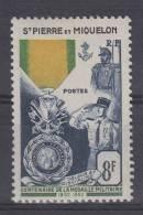 St Pierre Et Miquelon Yvert   Nr 347 , MH/*  Cat Value Maury  € 17 - St.Pierre & Miquelon