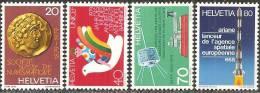 Svizzera 1979 Nuovo** - Yv.1092/95  Mi.1161/64 - Svizzera