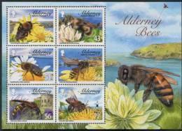 """Alderney - Block """"Bees"""" - Guernesey"""