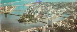 CPSM  9X21   De RECIFE - PENAMBUCO - BRASIL - Aérial View  édit VARIG - Recife