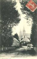 N°27389 -cpa Pontmain -basilique- - Pontmain
