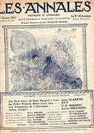 LES ANNALES N°1548 Du 23/02/1913. Fortifications De Paris, Roulottes, Wagon-logement, Ecole Des Tambours Et Des Clairons - General Issues