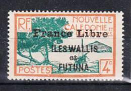 COLONIE FRANCAISE/WALLIS ET FUTUNA   - 1941 -  N° 95** SURCHARGE FRANCE LIBRE - Ohne Zuordnung