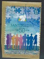 Italy. Scott # 3527 Used. 50th Anniv. Of Sant'Egidio 2018 - 6. 1946-.. Republik