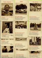 Autres Collections - Cartes à Jouer Anciennes - Jeu De Cartes De Famille Sur Le Thème De L´Afrique - - Cartes à Jouer Classiques