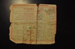 PANAMA 1888 - Navigation