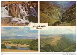 CPSM   - Carte Multi Vues  INYANGA  ( Zimbabwe) - Zimbabwe