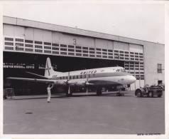 UNITED VISCOUNTS - Photo Pour La Presse (voir Scan 2) - 20 Cm X 25 Cm - Aviation Commerciale