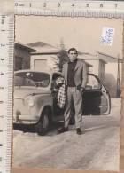PO6677B# FOTOGRAFIA - AUTO FIAT 500 - SESTO S.GIOVANNI 1962 - Cars