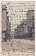 21245 Rennes. Rue Saint Michel. 74 A.G. Colorisée. Prise De La Place ST Michel - Rennes