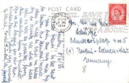 Großbritannien / United Kingdom - Karte Echt Gelaufen / Card Used (l 666) - 1952-.... (Elizabeth II)
