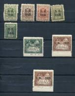 "Poland 1920 Mi 1-7 MH Overprint ""  S.O.1920"" - Unused Stamps"