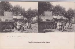 -  PARIS  -  Carte Sréréo  -  Sortie Des Bambins Du XIX E Arrondissement  -  Voiture De La Maison DAMOY - - Arrondissement: 19
