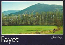 FAYET   VUE GENERALE - France