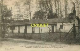 Cpa 33 St Médard En Jalle, Le Camp, Café-Restaurant... Habares Prop., Affranchie 1912 - Otros Municipios