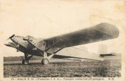 AVION D.B. 70 S.G.A TRANSPORT COMMERCIAL 28 PASSAGERS AVIATION - 1919-1938