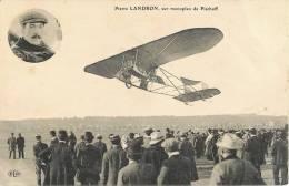 PIERRE LANDRON SUR MONOPLAN PISCHOFF AVIATION - Aviateurs