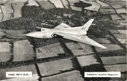 AVRO 707 A (GRANDE-BRETAGNE) AVION DE CHASSE GUERRE Aviation-magasine - 1946-....: Moderne