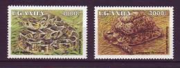 Ouganda YV 1271/2 N 1995 Tortue Vipère - Reptiles & Batraciens