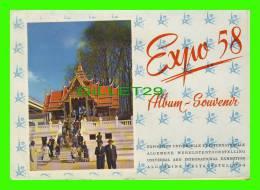 LIVRES - ALBUM SOUVENIR EXPO 58 BRUXELLES - 64 PAGES DE PHOTOS COULEURS - - Livres, BD, Revues