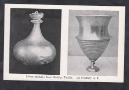CPA - SIRKAP - Taxila - Silver Utensils - Century A.D. - Archeologie - Archeology - Pakistan