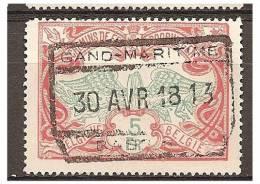 MY -1198    Ocb    TR 46  GAND MARITIME   /  BASSIN - Chemins De Fer